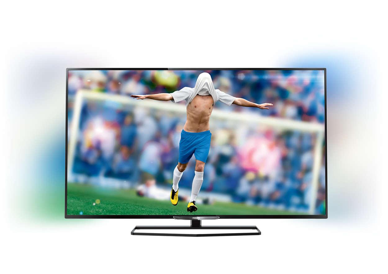 Smukły telewizor LED Full HD Smart
