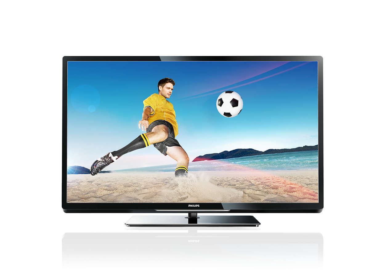 t l viseur led smart tv 47pfl4007h 12 philips. Black Bedroom Furniture Sets. Home Design Ideas