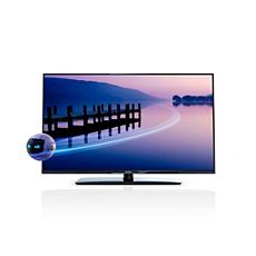 47PFL4398H/12 -    Tenký 3D LED televizor