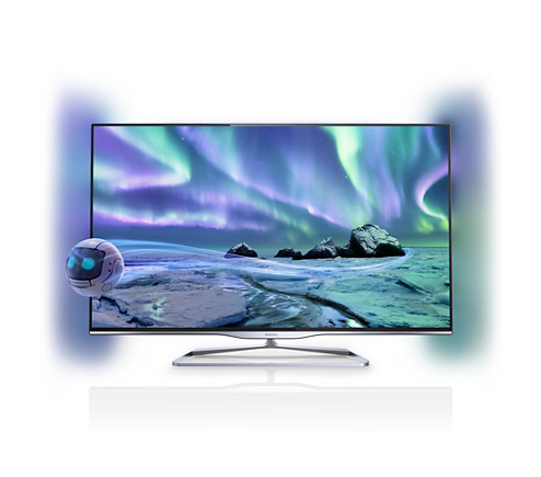 Ultraflacher 3d Smart Led Fernseher 47pfl5008k12 Philips