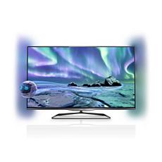 47PFL5028H/12  Ultraflacher 3D Smart LED-Fernseher