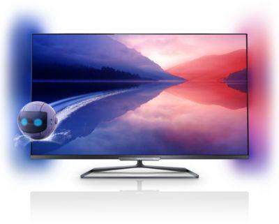 Philips Fernseher Bezeichnung : Series ultraflacher d smart led fernseher pfl k