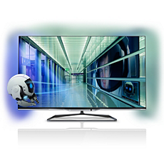 47PFL7008K/12  Ultraflacher 3D Smart LED-Fernseher