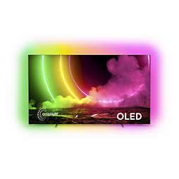 OLED טלוויזיה Android עם צג 4K UHD E-OLED