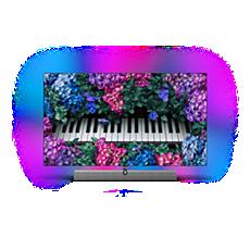 48OLED935/12 OLED+ 4K UHD Android-Fernseher– Sound von Bowers&Wilkins