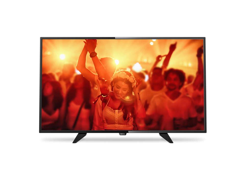 Λεπτή τηλεόραση LED Full HD