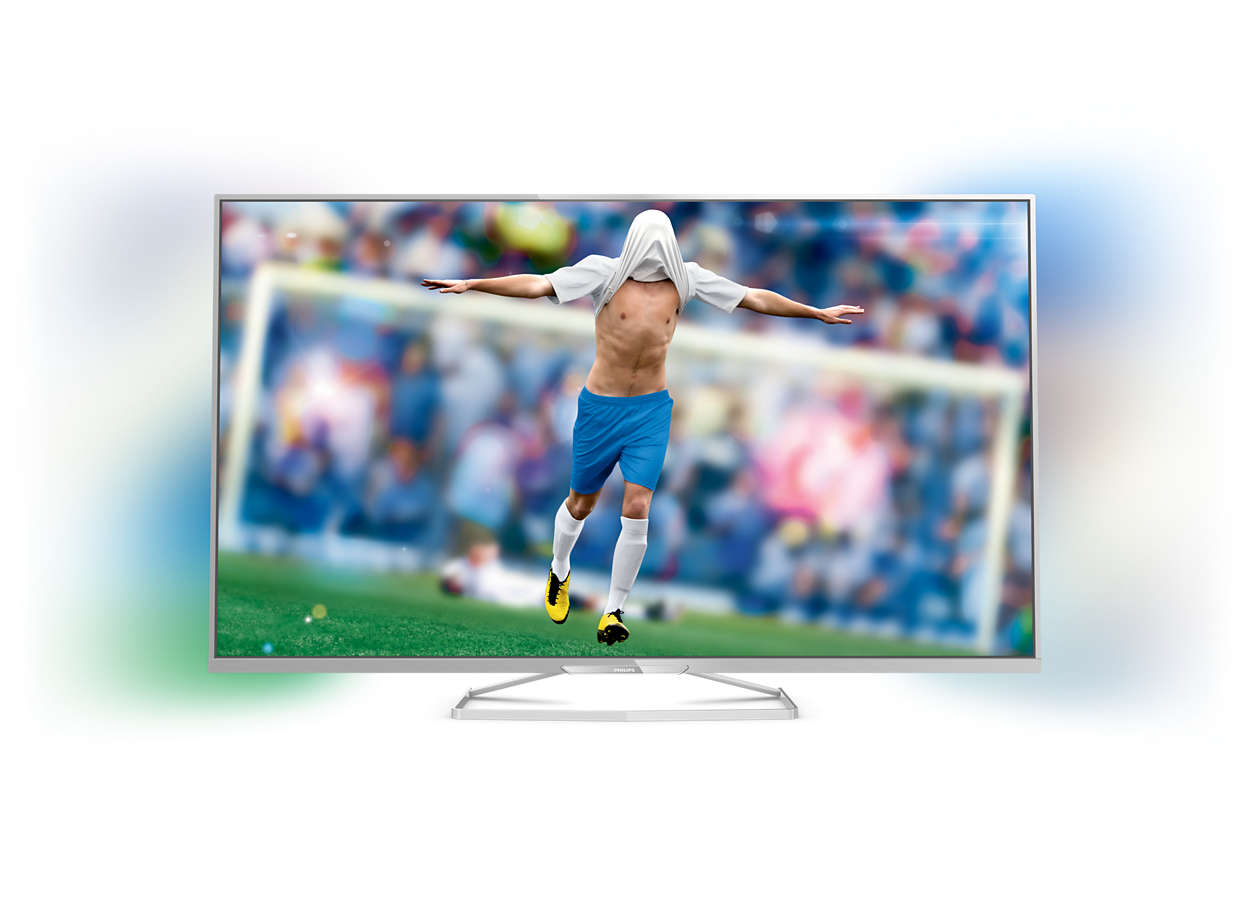 Flacher Smart Full HD-LED-Fernseher