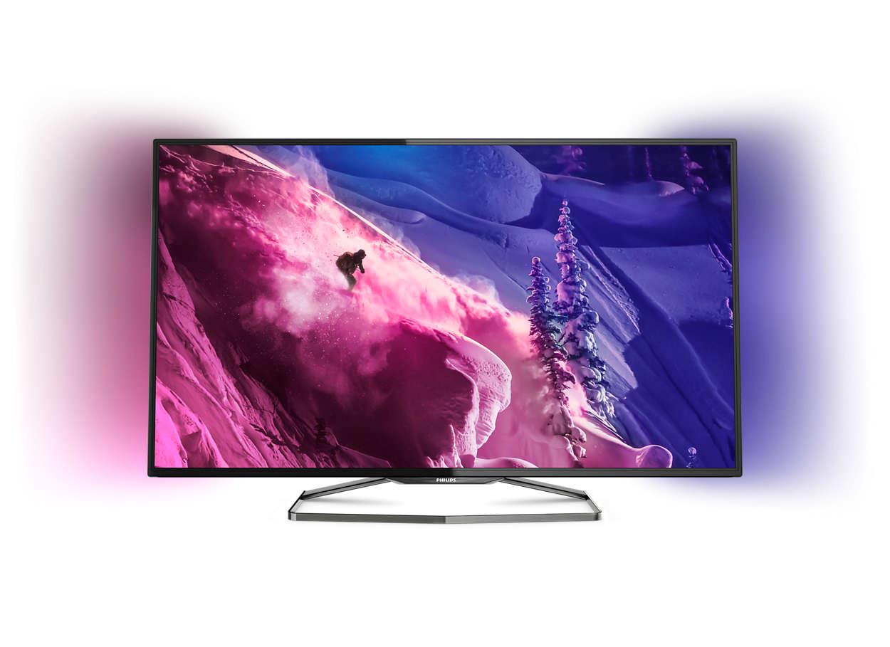 Smart TV LED, Full HD, ultrasubţire