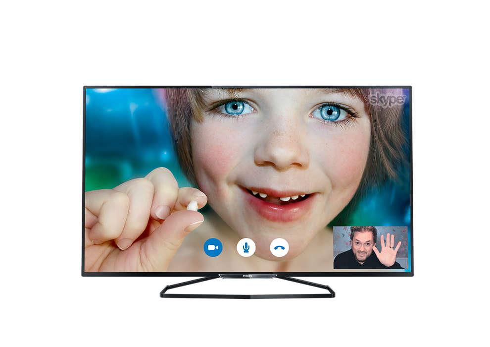 Tenký LED televizor Smart Full HD