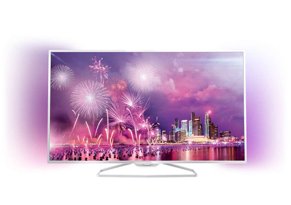 Smart TV LED, Full HD, subţire