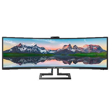Brilliance 32:9 SuperWide, kaareva LCD-näyttö