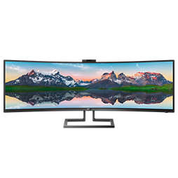 Brilliance 32:9 SuperWide izliektais LCD displejs