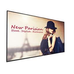 Signage Solutions D-Line-scherm