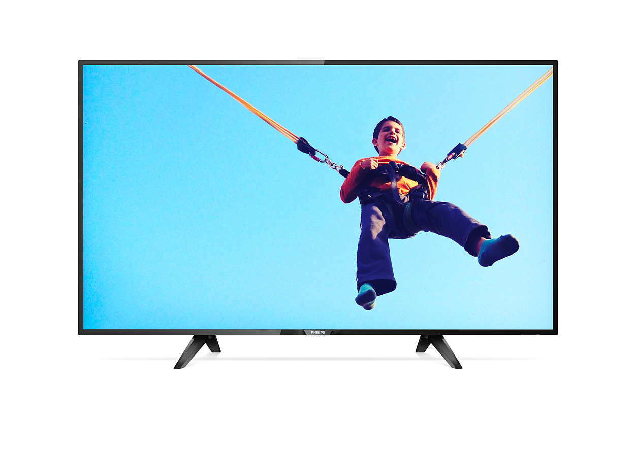 Televisor Smart LED delgado