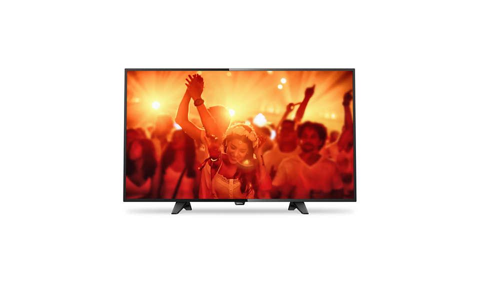 Ultratunn LED-TV med Full HD