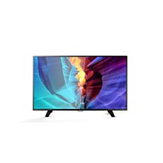 49PFT6100/56  دقة Full HD، Smart LED TV رفيع
