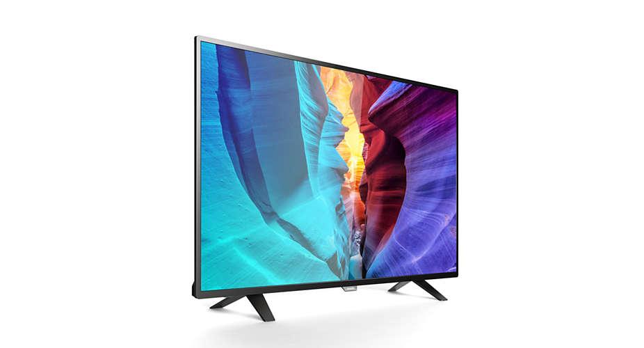 Full HD Smart Slim LED TV 49PFT6100/56   Philips