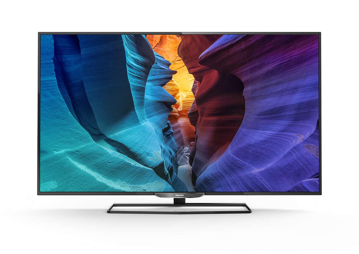 Ultra HD LED 智慧型顯示器