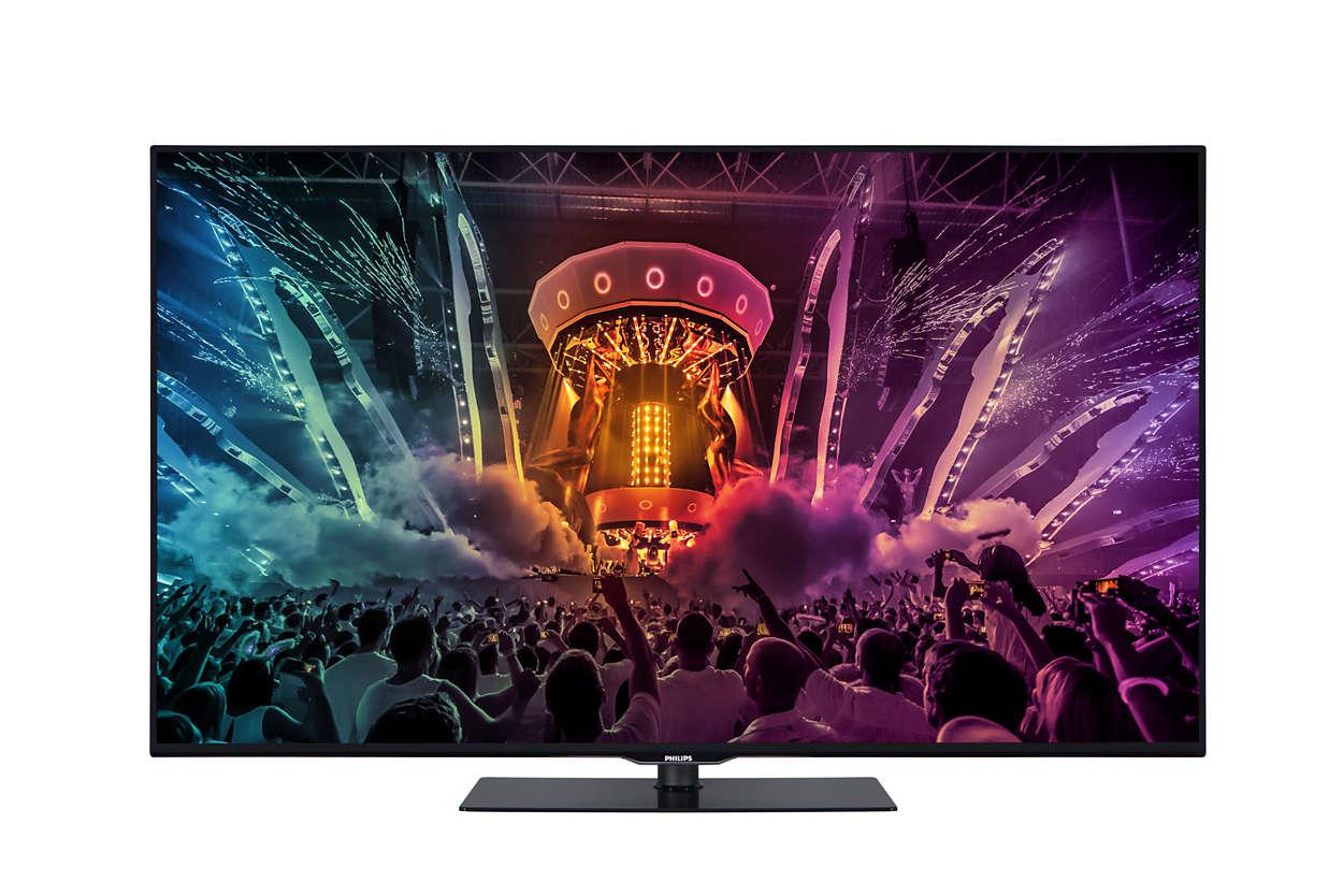4K Ultra İnce Smart LED TV