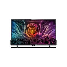 49PUS6101/12  Ultraflacher 4K Smart LED-Fernseher