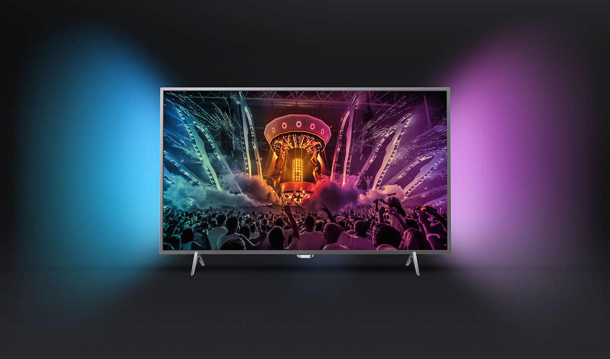 399c7c4628d Üliõhuke Android TV™-ga 4K teler 49PUS6401/12 | Philips