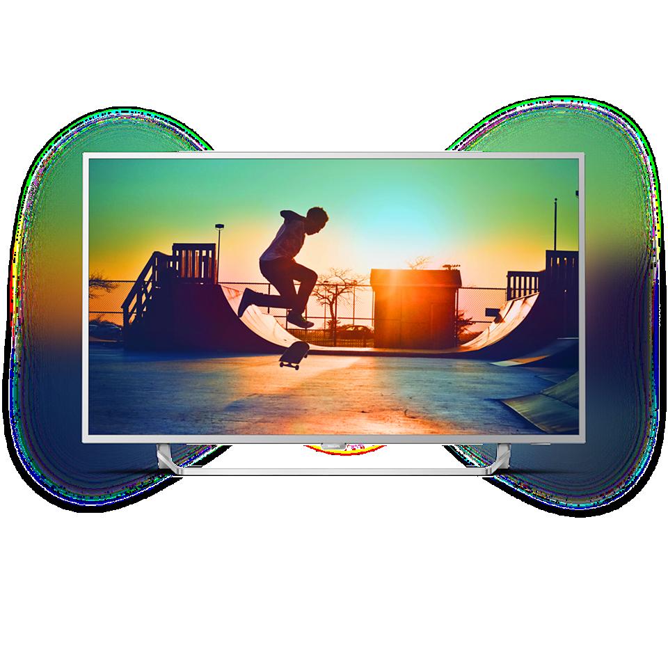 6000 series Ultraslanke 4K-TV powered by Android TV