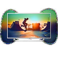 49PUS6412/12 -    Ультратонкий 4K TV на базе ОС Android TV