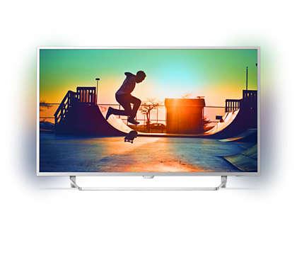 Ультратонкий светодиодный 4K LED TV на базе ОС Android TV