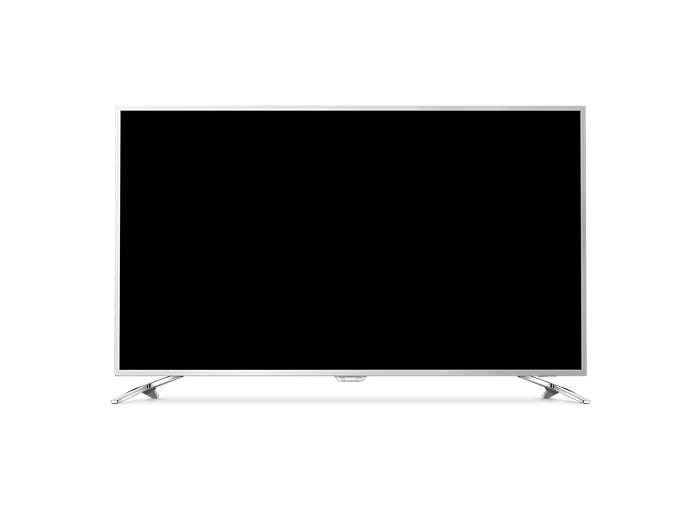 Slimmad LED-TV med 4K Ultra och Android TV