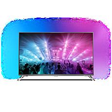 49PUS7101/12 -    Ultraslanke 4K-TV met Android TV™