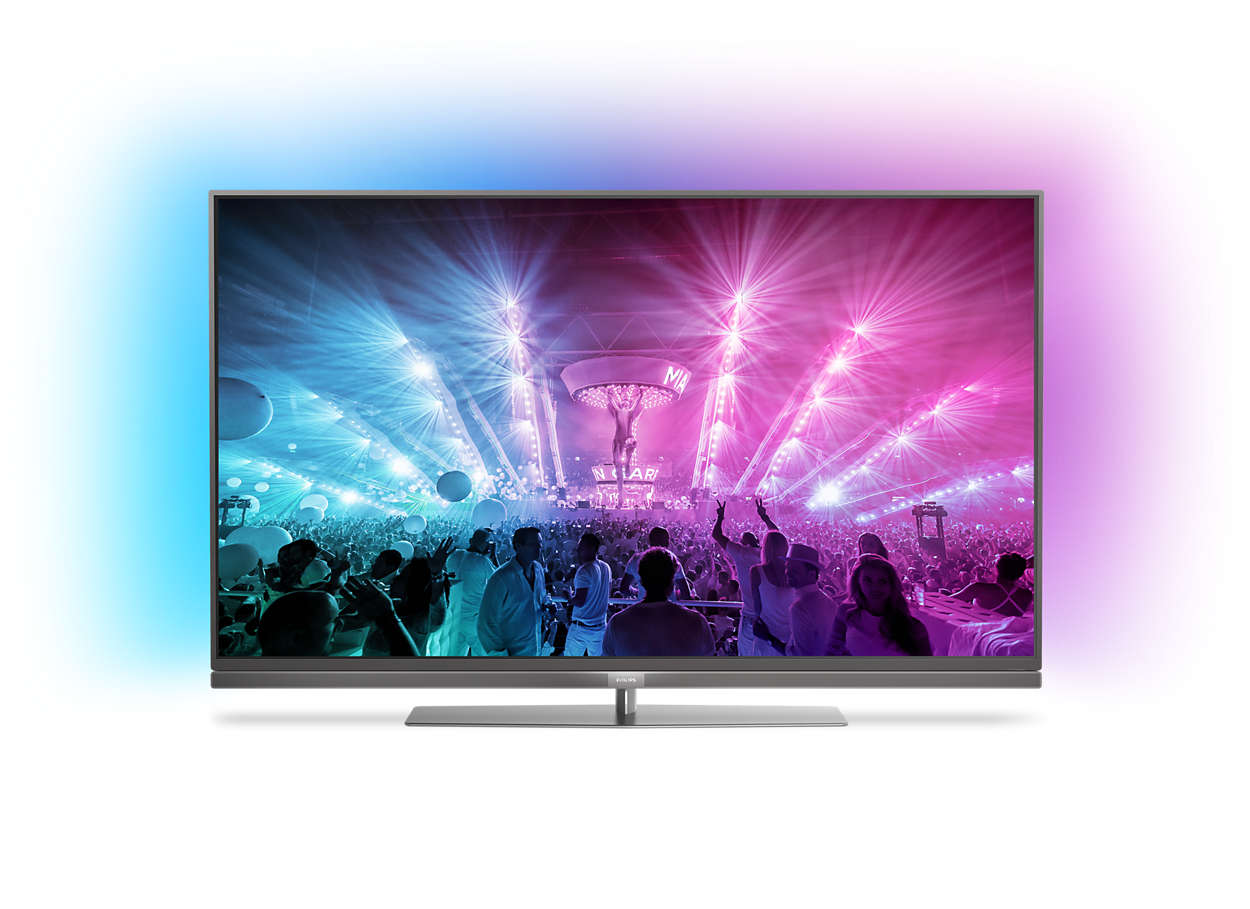 TV LED ultra sottile 4K Android