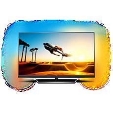 49PUS7502/12  Slimmad TV med 4K Ultra HD som drivs av Android TV