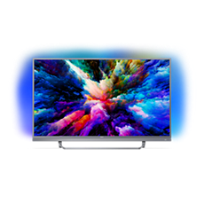 49PUS7503/12  Ultraflacher 4K UHD-LED-Android-Fernseher