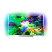 7800 series Tunn Android LED-TV med 4K UHD