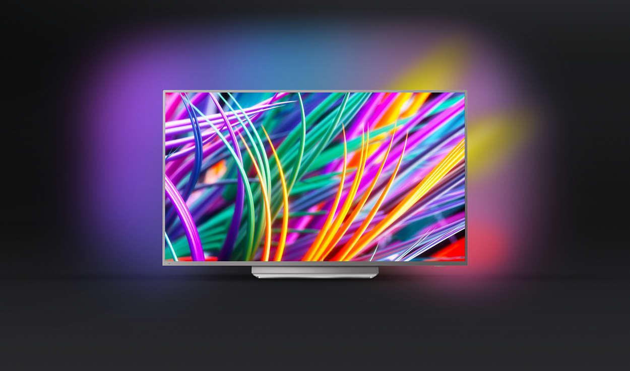 Beste Tv Voor Slechtzienden.8300 Series Ultraslanke 4k Uhd Led Android Tv