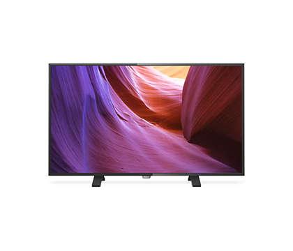 4K Ultra HD Slim LED TV