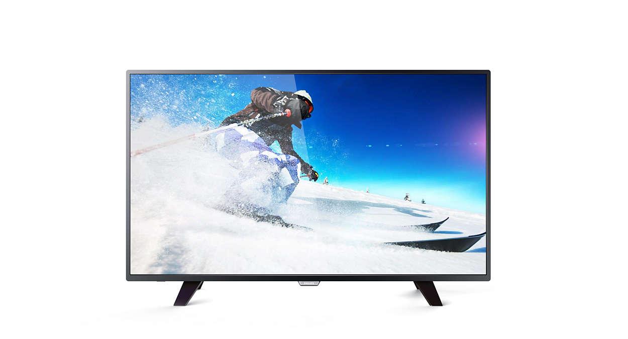 دقة 4K، شاشة رفيعة جدًا، تلفزيون LED