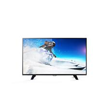 49PUT5801/56  دقة 4K، شاشة رفيعة جدًا، تلفزيون LED