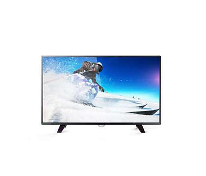 4K Ultra Slim LED TV