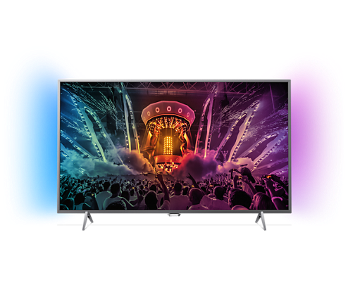 tv 4k 32 pollici philips  TV ultra sottile 4K Android TV™ 49PUT6401/12 | Philips