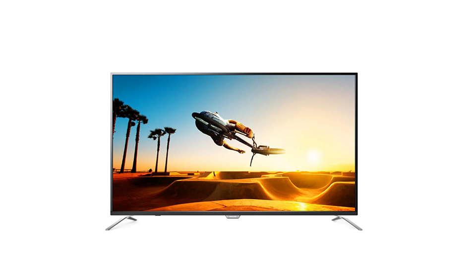 4K Ultra Slim Smart TV