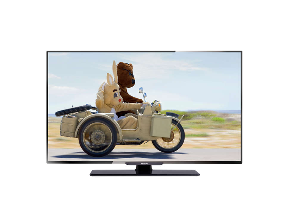 تلفزيون فائق الدقة كليًا مزوّد بشاشة LED