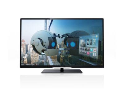 Philips Fernseher Bezeichnung : Ultraflacher smart led fernseher pfl k philips