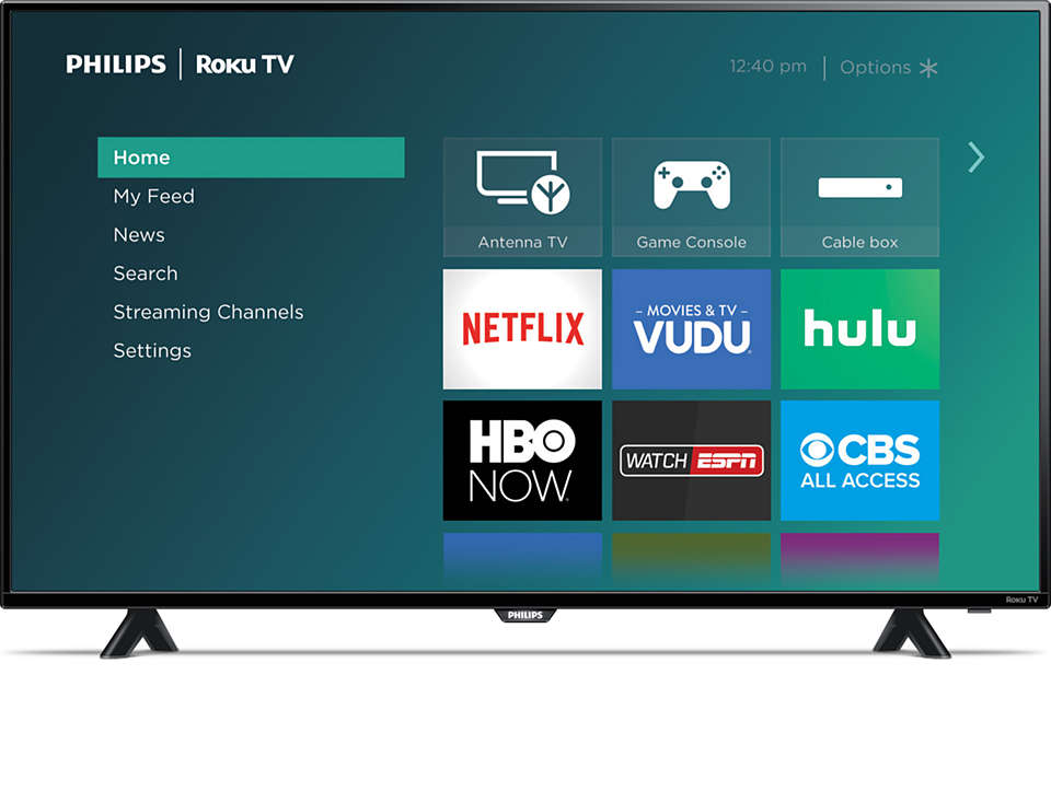 More than a smart TV, a better TV.