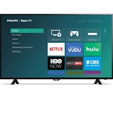 50PFL4662/F7 -  Roku TV  4000 series LED-LCD TV
