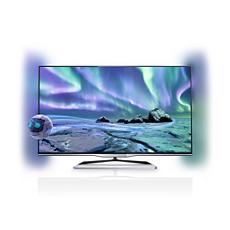 50PFL5038K/12  Ultraflacher 3D Smart LED-Fernseher