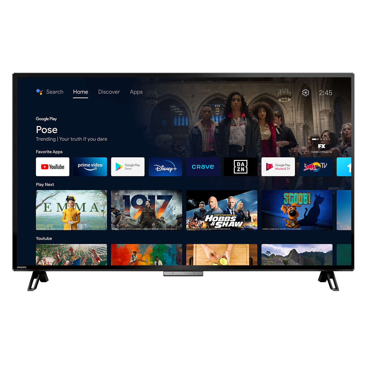Do more on your TV with just your voice