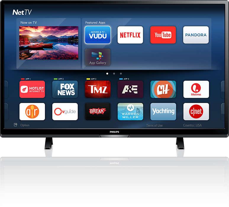 Téléviseur ultra HD 4K intelligent
