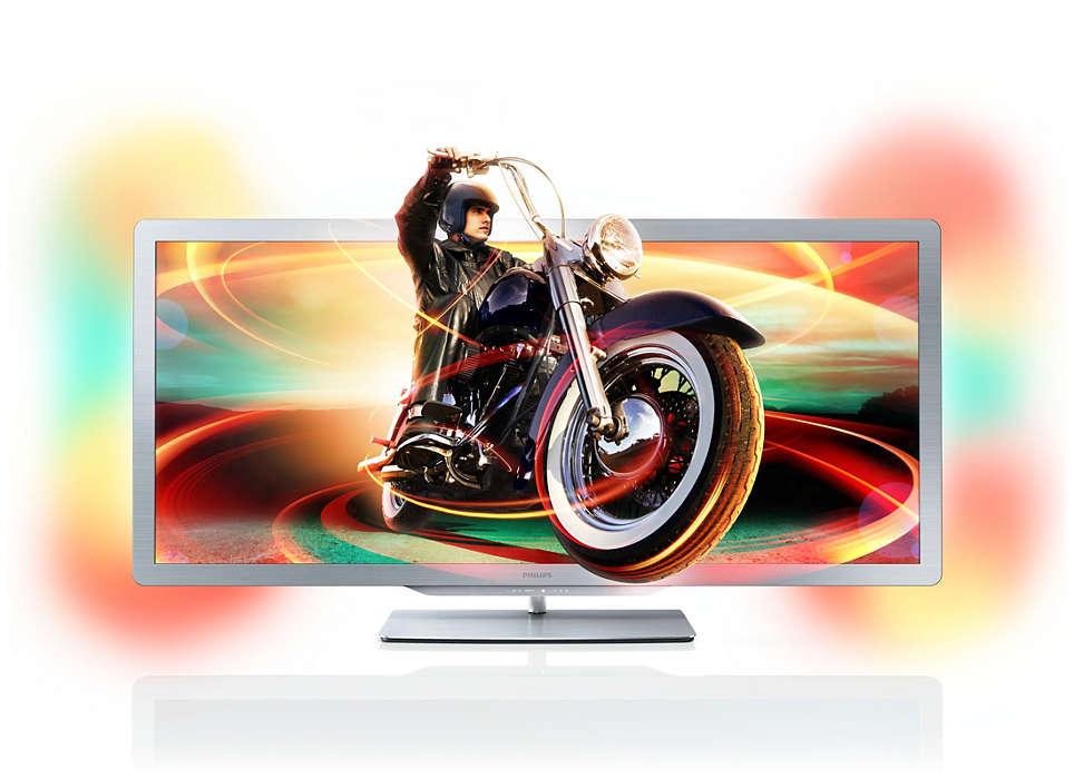 A primeira Smart TV do mundo com proporções de cinema