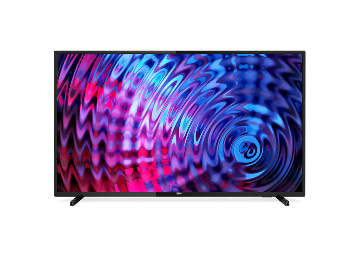 Smart, tunn Full HD LED-TV